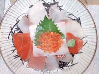 さかな丼 1,850円(税別)