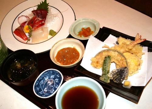 大漁膳(税抜き価格) 1800円