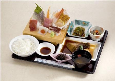 刺身定食 1730円