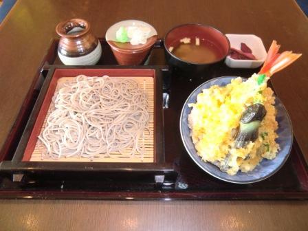 味かたり 天丼セット 1,265円