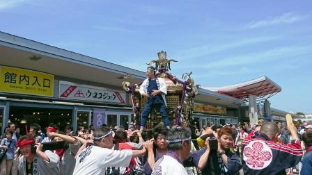 春季例大祭 かつぎ神輿